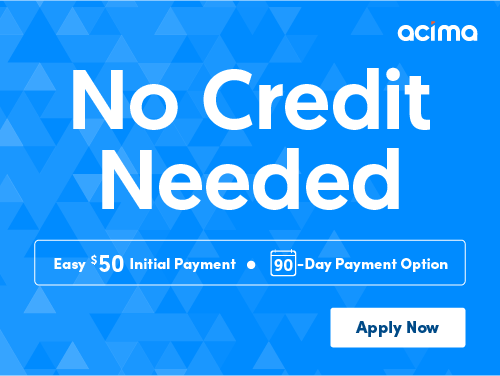 No Credit Needed - Easy $50 initial payment - 90 day patment option - Apply Now